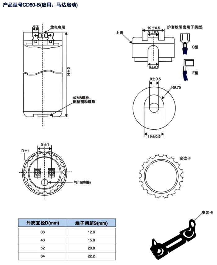 CD60-B聚碳壳封装betway 西汉姆 (图3)